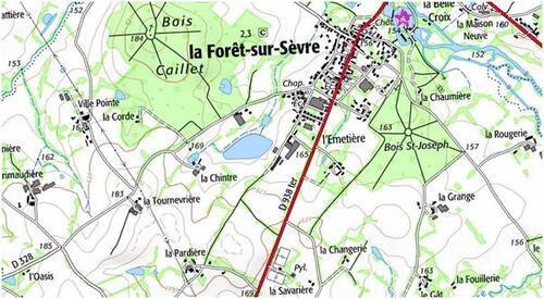 """La Forêt-sur-Sèvre et le """"grand chemin de la Châtaigneraie""""...."""
