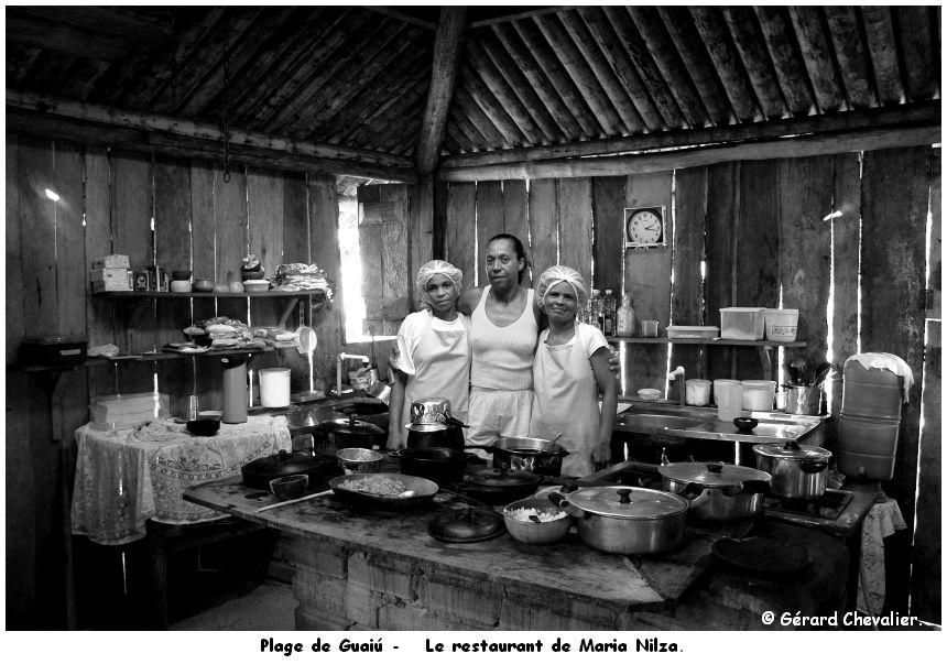 Plage de Guaiú - (Bahia - Brasil)