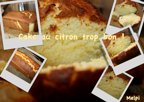 Cake au citron Thermomix