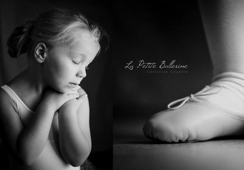 Une photo | La petite ballerine