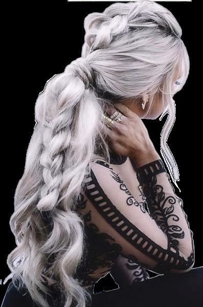 Tubes femmes cheveux gris création 20