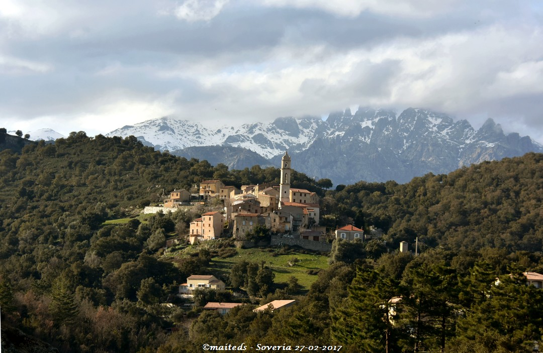 Village de Soveria - Corse