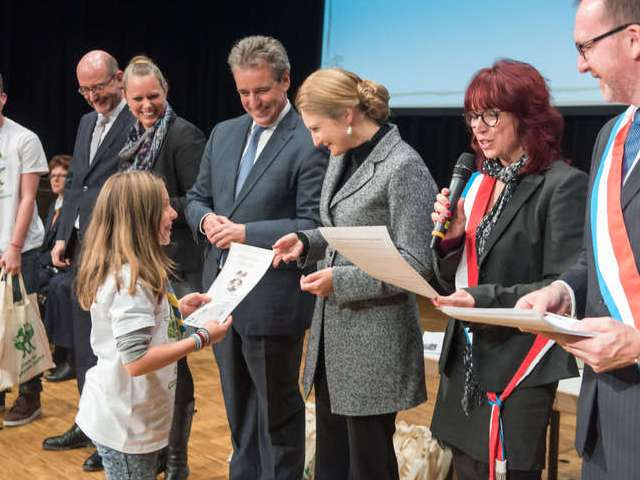 Remise des diplômes « Plant for the planet »