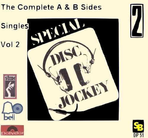 "Various Artists : CD "" Special Disc Jockey The Complete Singles Vol 2 "" SB Records DP 51 [ FR ]"