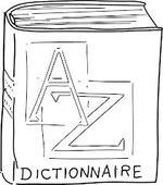 le début  du dictionnaire