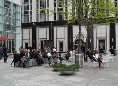 La vie sociale des petits espaces urbains (4) : la vie des Plazas