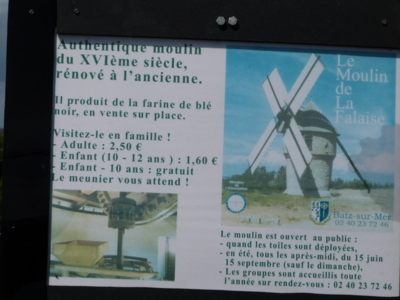 Blog de charlottopoire : Mes petites créas, Le moulin de la falaise...