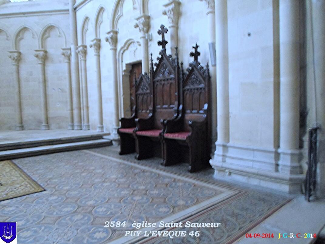 EGLISE SAINT SAUVEUR PUY L'ÉVÊQUE  46 04/09/2014 D 09/02/2015