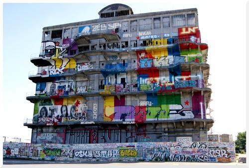 L'ancien bâtiment des douanes à Pantin.