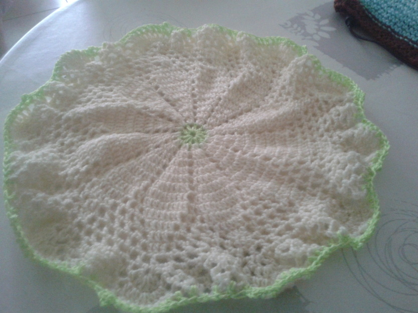 napperon au crochet
