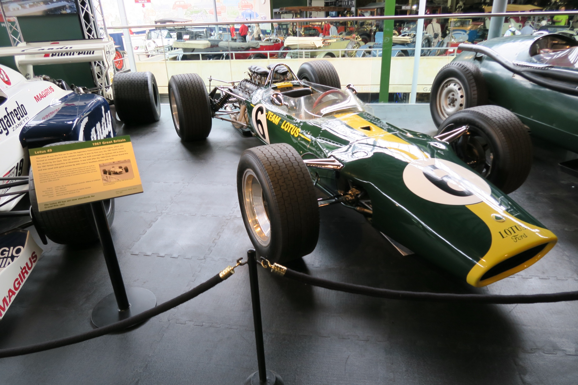 BEAULIEU : Lotus 49 R3