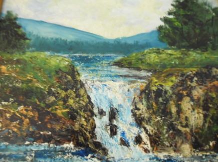 En 2011, reprise de la peinture.
