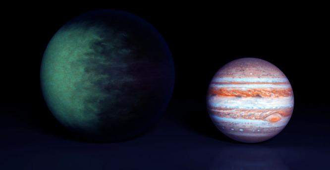 Une bizarrerie jamais vue parmi les exoplanètes