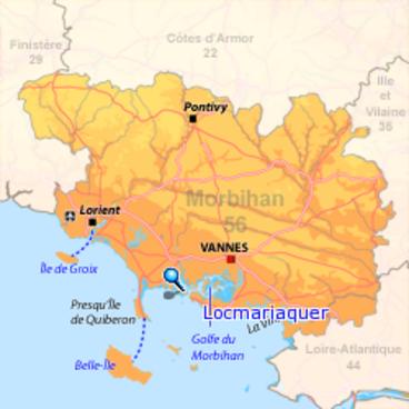 794 - Les cailloux de Locmariaquer (56)