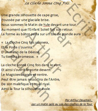 La Cloche Sonna Cinq Fois.