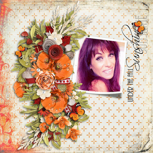 Under The Fall Sunshine by dentelle scrap