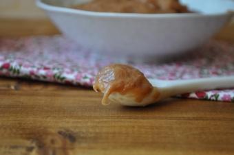 Compote de Rhubarbe à l'eau de rose
