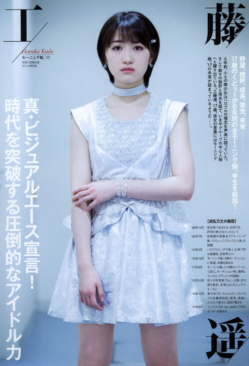 Interview de Kudou haruka pour le magazine Top Yell