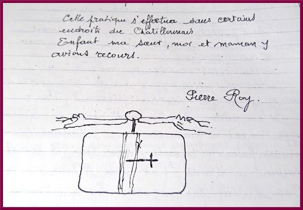 Souvenirs de Pierre Roy :Les Religieuses à Aisey sur Seine au XIXème siècle