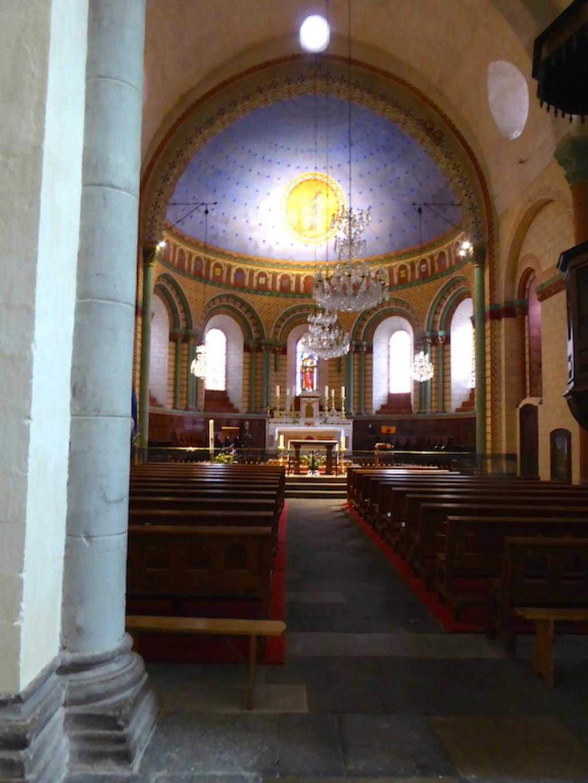 L'église de Blesle