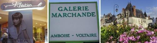Retrouvez les créations de bijoux de Sylvie LE BRIGANTà Amboise dans la galerie marchande au salon de coiffure sylvie création.