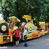 Tour de France 2017 Dole le parking caravane