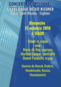 Concert Chant et Orgue - 21.10.2018