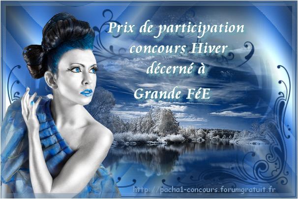 Prix concours Hivers du forum