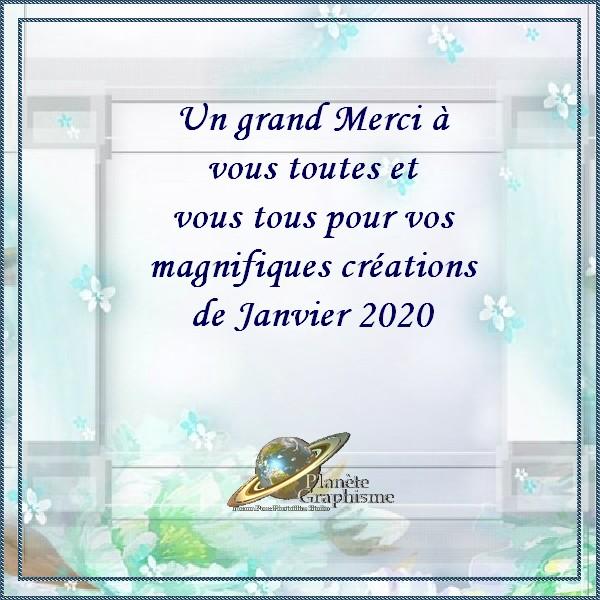 Variantes du mois de Janvier 2020