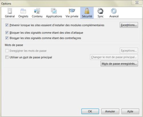 Comment paramétrer Mozilla Firefox pour éviter les cookies ?