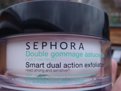 - Gommage  Sephora -