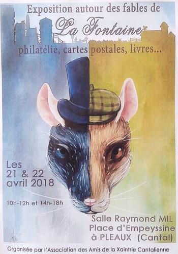 Visite de l'exposition à Pleaux - 30/04/18