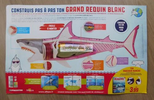N° 1 Construis pas à pas ton grand requin blanc - Lancement