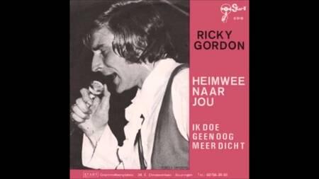 RICKY GORDON heimwee naar jou 1970