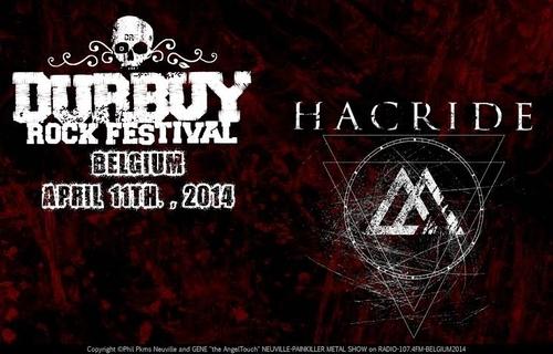 HACRIDE_Durbuy Rock Festival 2014_Logo