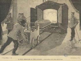 Le crématorium du Père-Lachaise suscitait la curiosité