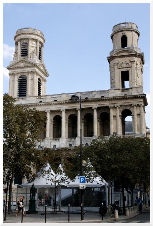 Paris - Eglise Saint Sulpice.