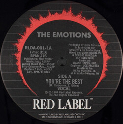 The Emotions - You're The Best