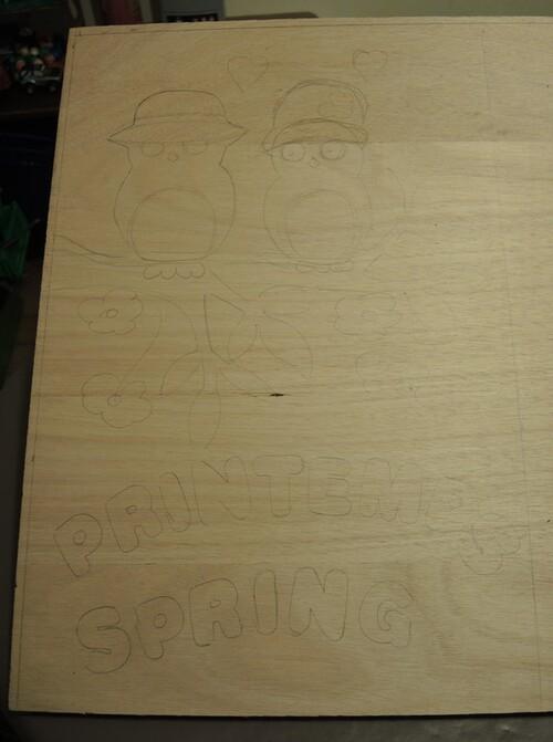 Fresque en mosaïque pour l'école de notre petit fils-suite1