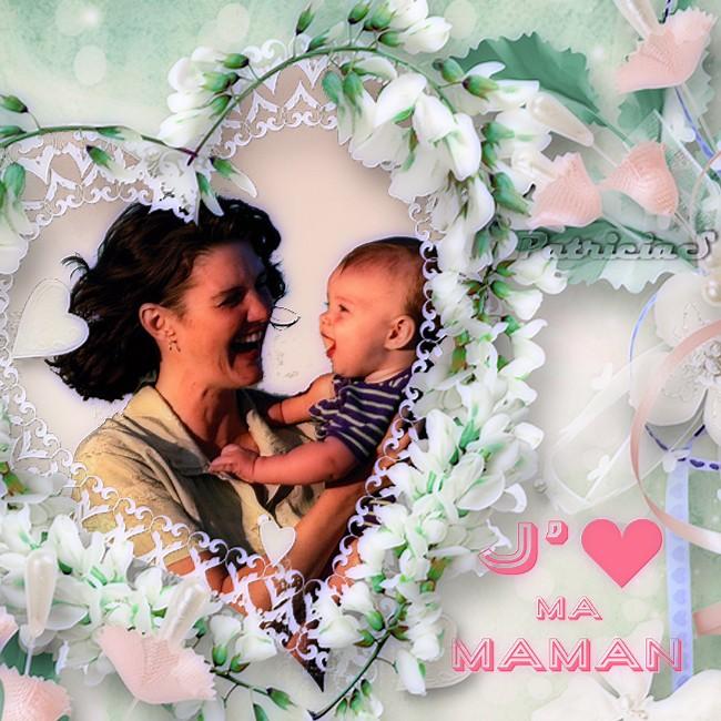 Bonne fête des mamans  de la Belgique Canada Italie Suisse et autres continents