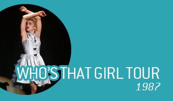 Who's That Girl Tour