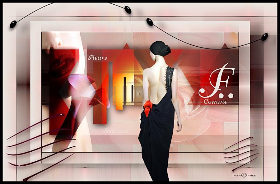 F comme Femme ♥ Bon jeudi ♥