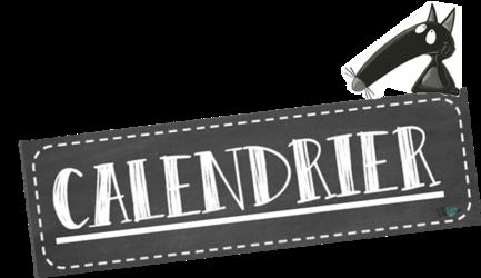Calendrier 2019/ 2020 - Le Loup