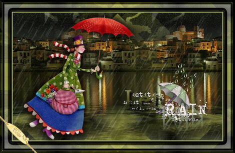 Rainy-day    Saturnella