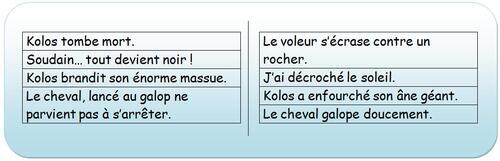 Kolos et les quatre voleurs, Mourlevat et Chatellard