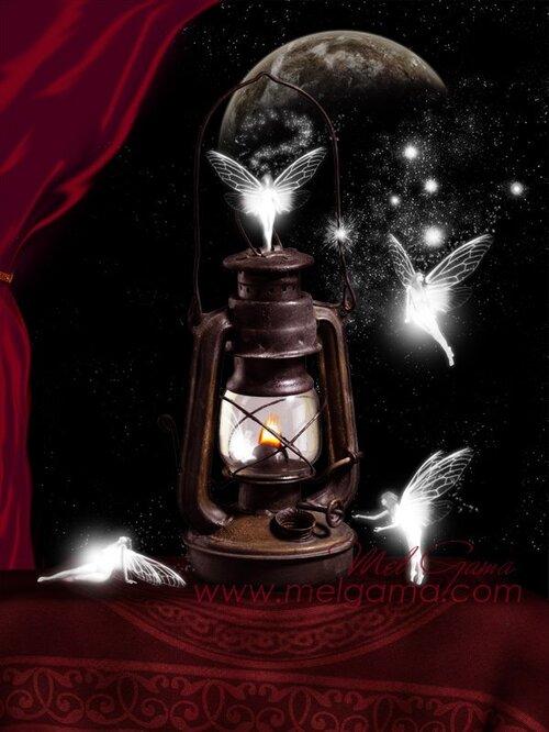 De jolie petite fées, pour vous guider dans vos différents voyages aux pays des rêves.