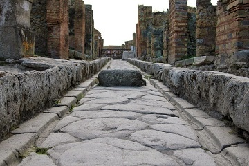 Les rues de Pompéi ...