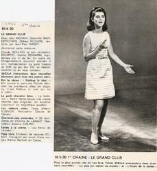 03 novembre 1966 / LE GRAND CLUB