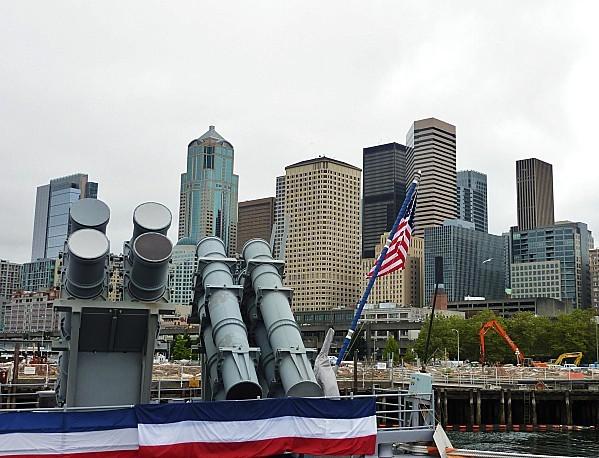 Jour 30 Seattle Waterfront vu du navire 2