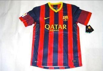 Les nouveaux maillots du Barca pour le saison 2013-2014